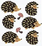 Jolee's Boutique Dimensional Stickers-Hedgehogs
