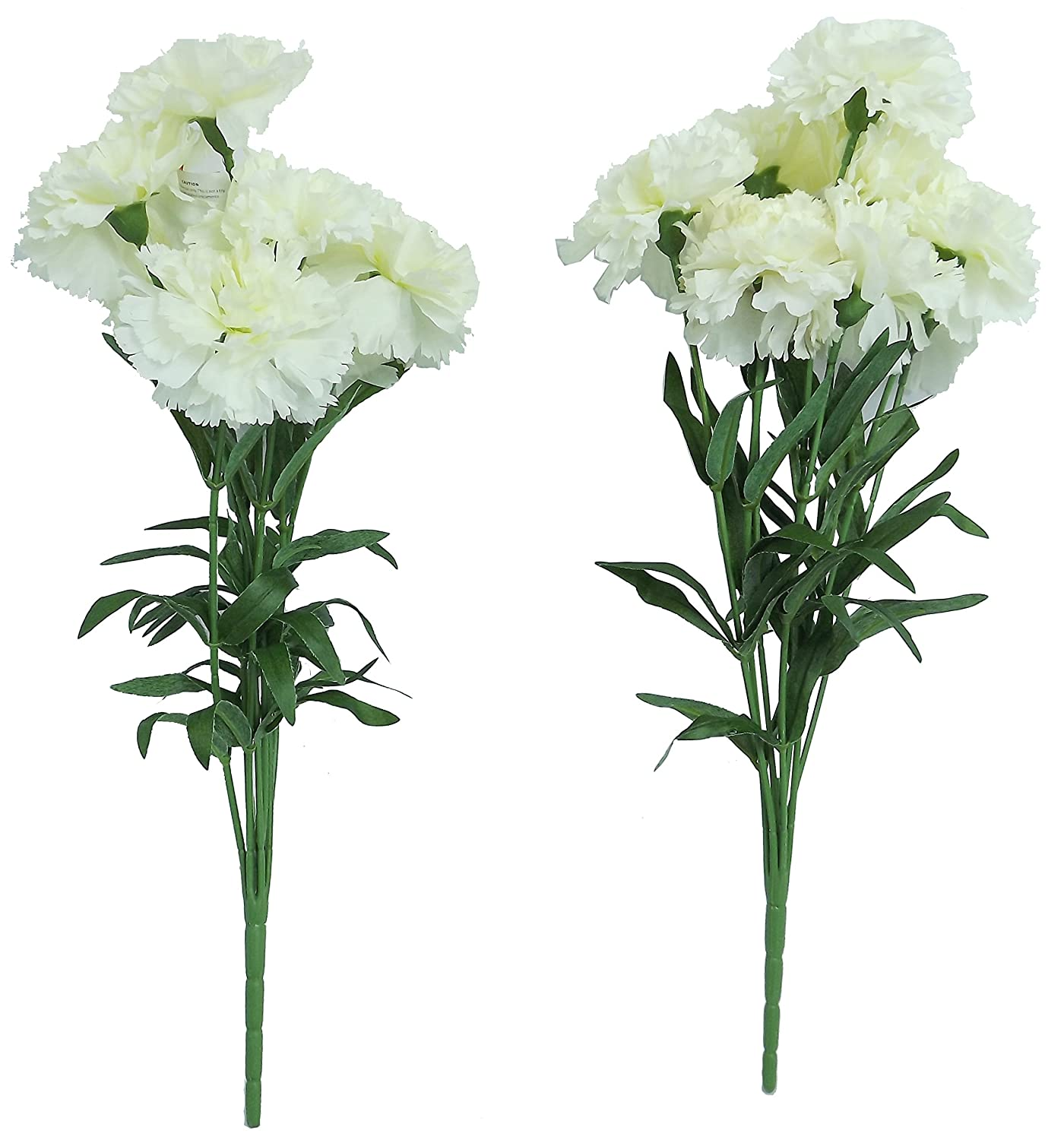 Amazon Artificial Flowers Artificial Carnations White Flowers