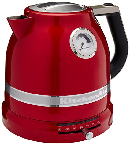 Amazon Com Kitchenaid Kek1522ca Kettle Candy Apple Red Pro Line