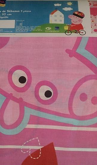 Peppa PIG LENZUOLA UNA PIAZZA COTONE ART.8760
