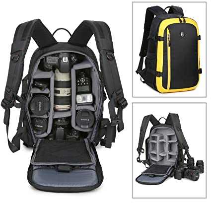 Amazon.com : Abonnyc Camera Backpack Bag Case Oxford Hiking Bag ...