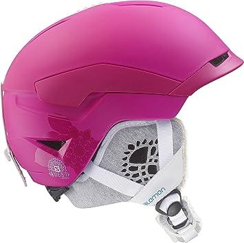 Salomon Quest Access W - Casco de esquí, Color Rosa, S