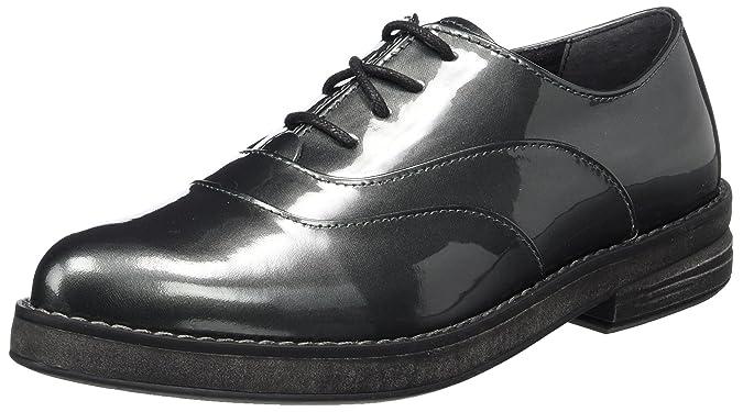 23723, Oxford Femme, Noir (Black Patent), 39 EUMarco Tozzi