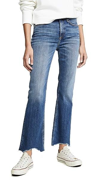Rag & Bone/JEAN Womens Nina Jeans, Doric, Blue, 23 at ...