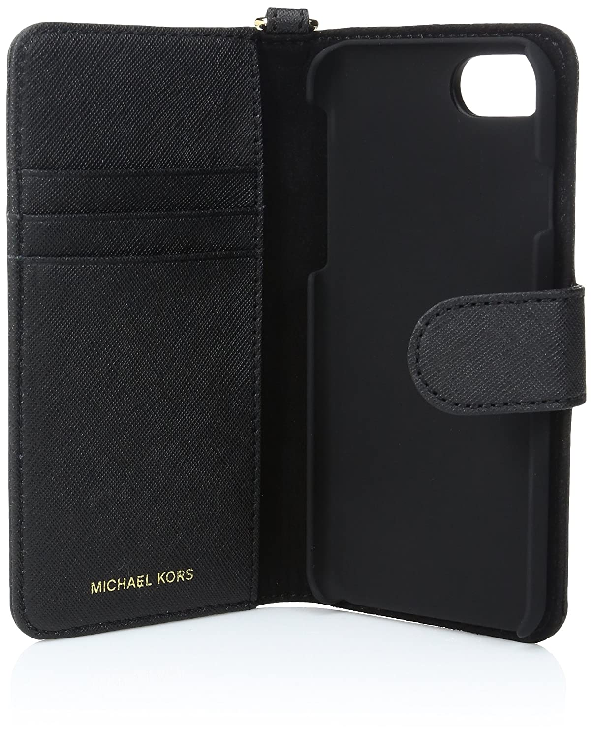 detailed pictures 1e7f7 63d89 Michael Kors Electronic Leather Folio Phone Case 7