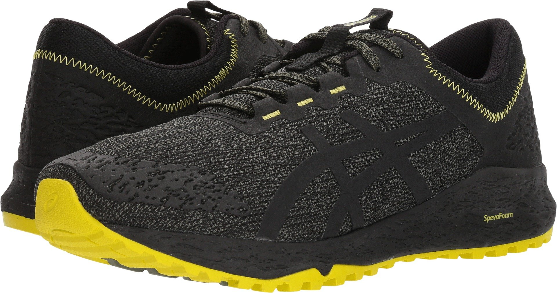 ASICS T828N Men's Alpine XT Running Shoe, Four Leaf Clover/Phantom/Sulphur Spring - 12