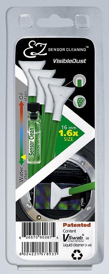 Visibledust Grüne Serie Ez Sensor Cleaning Kit 4x Kamera