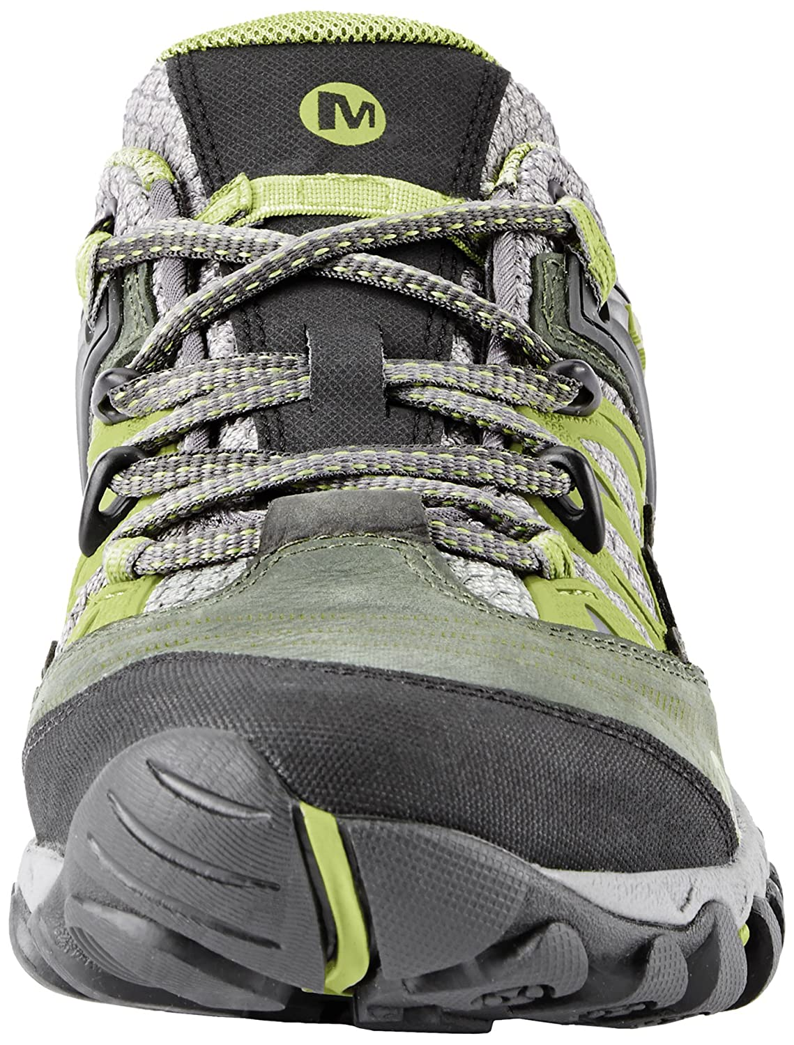 Merrell Women's All Out Blaze Hiking Shoe B00D1N09AY 6 B(M) US|Charcoal/Moss
