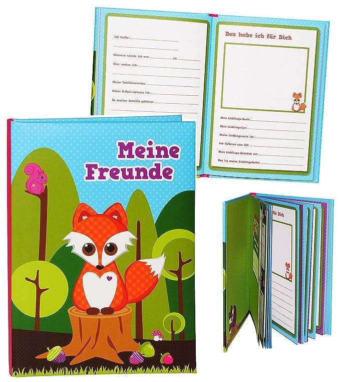 Unbekannt Meine Freunde Buch Fuchs Waldtiere Für Schulfreunde