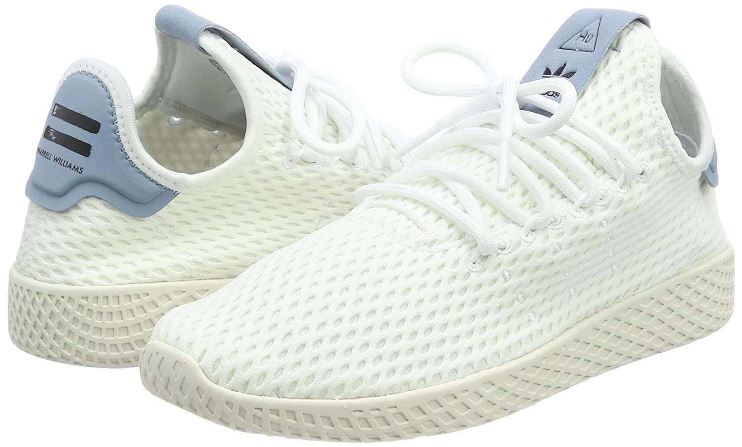 Amazon.com: Adidas Pharrell Williams Tennis Hu Mens Sneakers White: Clothing