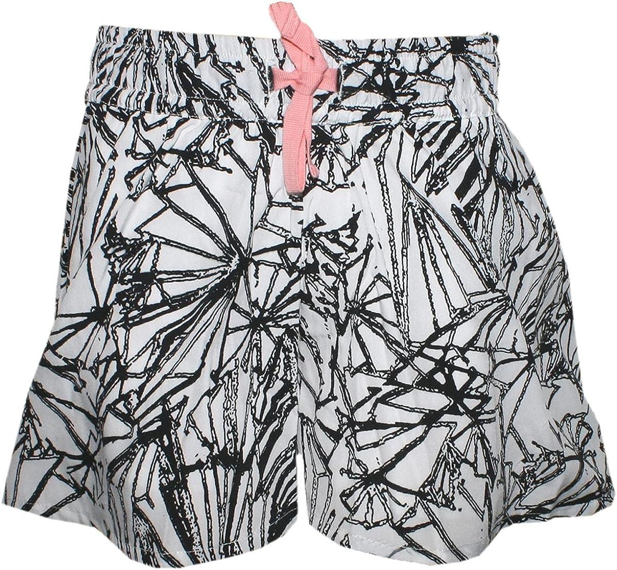 Creamie Locker leichte Shorts//Hosenrock Wei/ß//Schwarz Modell Beanie Shorts