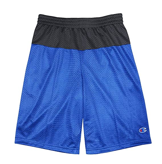 Champion Boys Two-Tone Active Basketball Mesh Shorts Blue//Black 00-0AGUAV-14