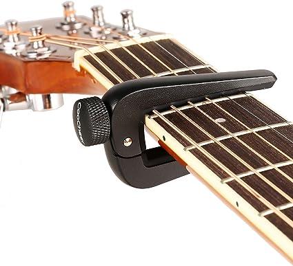 homdox Newport Capo – Cejilla para guitarra clásica acústica y ...