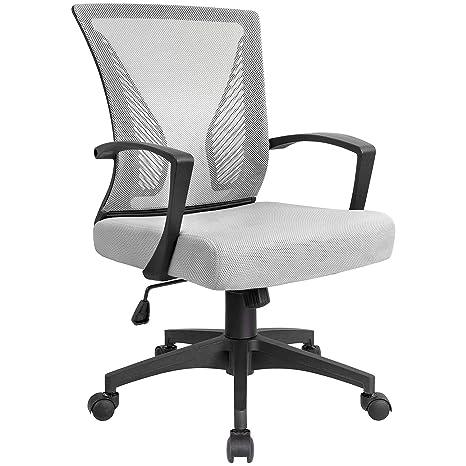 Amazon.com: KaiMeng - Silla de oficina ergonómica con ...