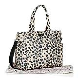 TWELVElittle Carry Love Tote Diaper Bag, Leopard