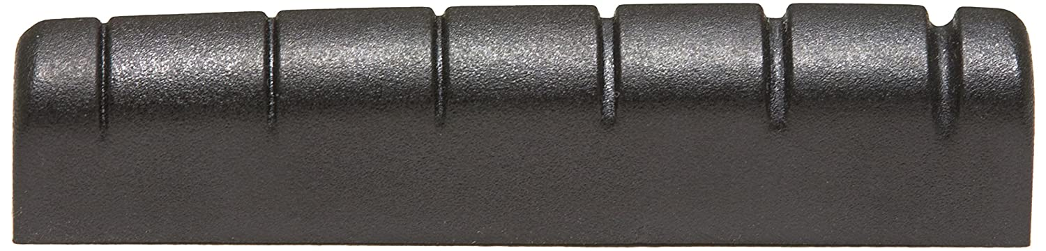 GraphTech PT601000 TUSQ XL Black Self-Lubricating Slotted Nut, Gibson Style