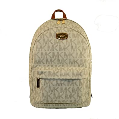 Michael Kors Large Jet Set PVC Backpack (Vanilla)  Amazon.co.uk  Clothing 91794b985d44f