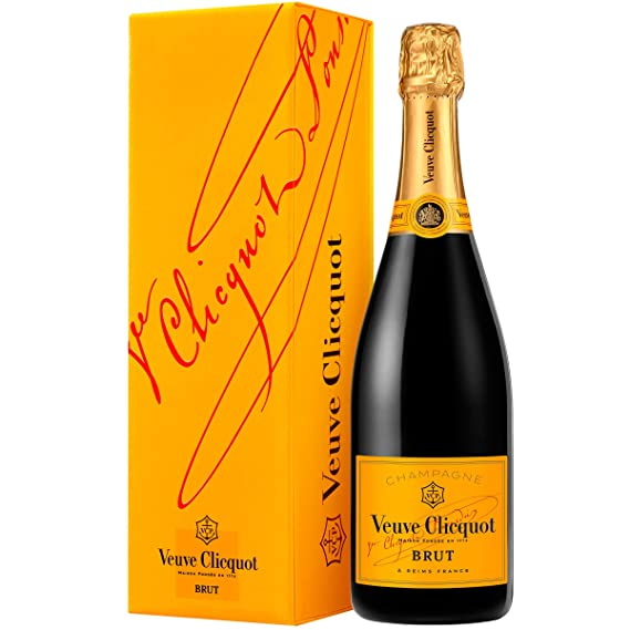 veuve clicquot yellow label brut non vintage magnum champagne with