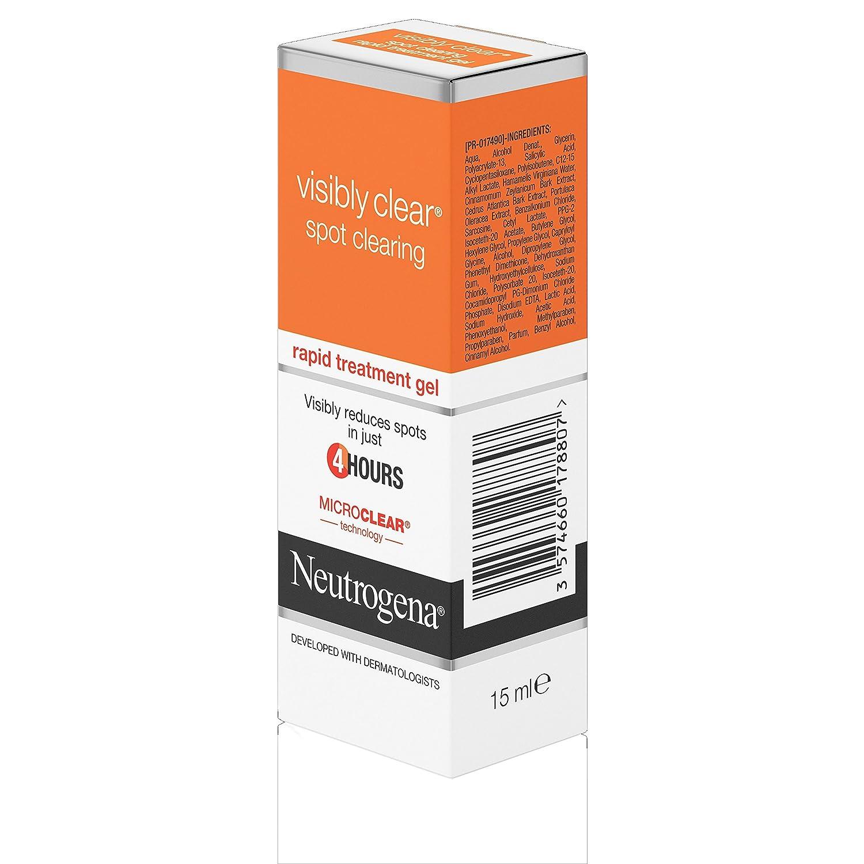 Neutrogena Tratamiento rápido y visible aclarador de manchas, 15 ml.: Amazon.es: Belleza