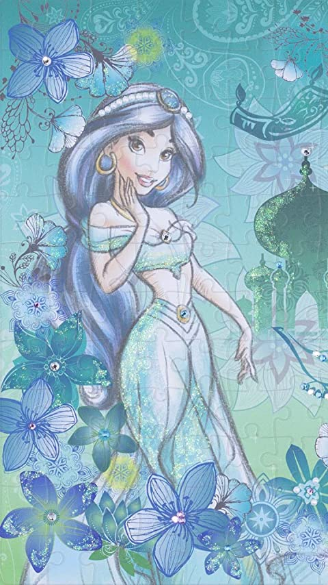 ディズニー アラジン Jasmine(ジャスミン) XFVGA(480×854)壁紙画像