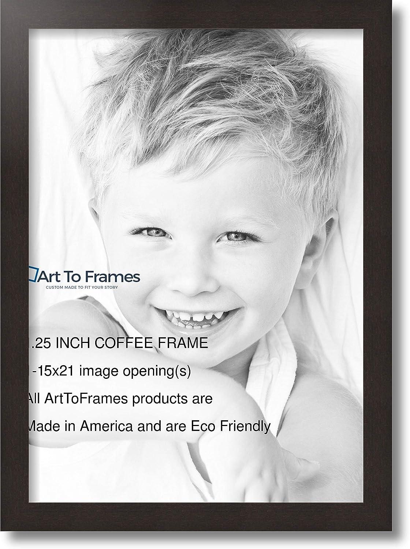 ArtToFrames 20x12 Picture Frame 1.25 Espresso