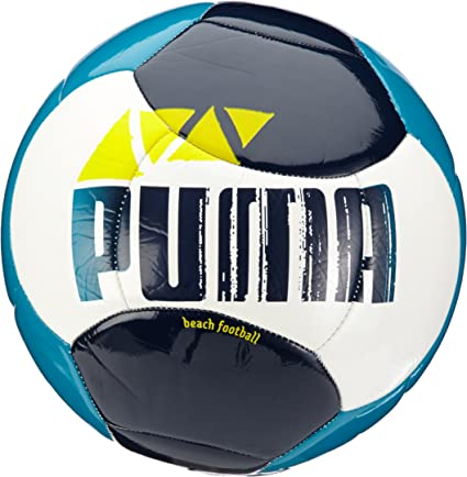 PUMA Beach Football - Balón de fútbol Playa, Color Azul y Blanco ...
