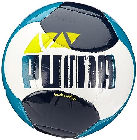 PUMA Beach Football - Balón de fútbol Playa, Color Azul y Blanco ...