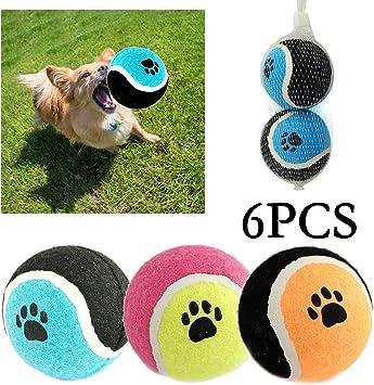 BPS® Pack de Juguetes para Perro, Juguetes Pelotas para Perros ...