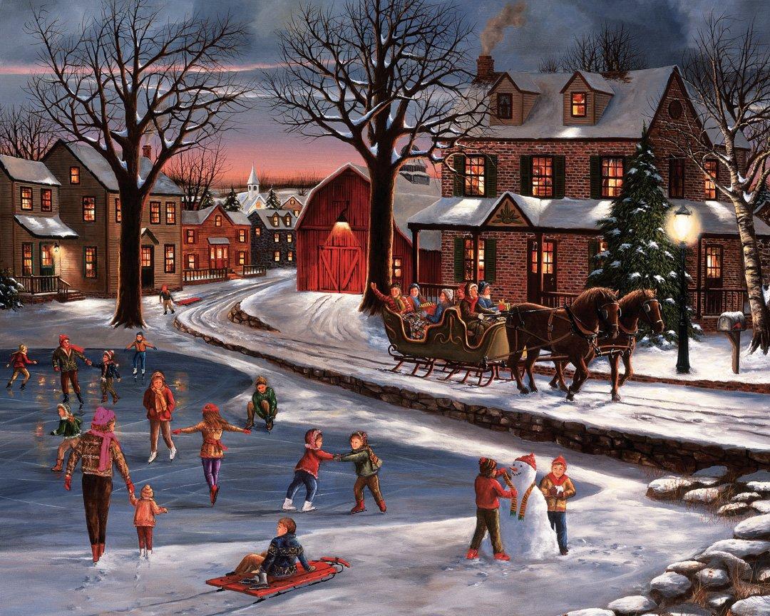 Herzen von von von Weihnachten Jigsaw Puzzle 1000 Teile 56f4ee