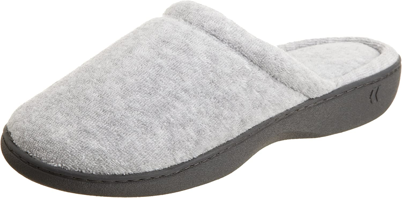 ISOTONER Classic Terry Clog - Zapatillas de Estar por casa para Mujer