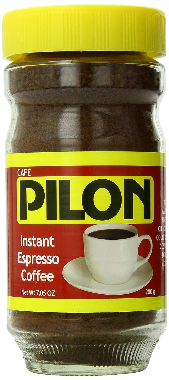 Cafe Pilon Instant Espresso Coffee, 7.05 Ounce (Pack of 12) 81C26U15IhL._SL1500_