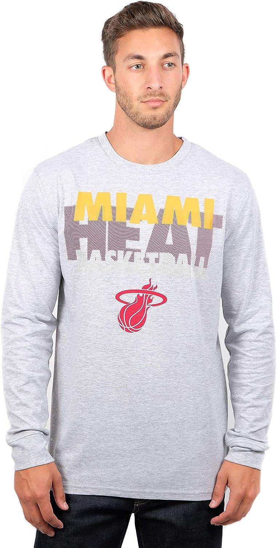 Ultra Game NBA Mens Supreme Long Sleeve Pullover Tee Shirt