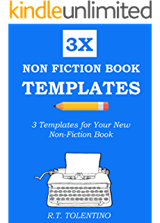 Amazon non fiction writing templates 44 tips to create your non fiction book templates 2016 3 simple templates for your new non pronofoot35fo Images