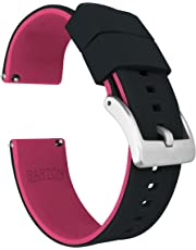 Barton Elite Silicone Watch Straps - Quick Release - Choose Color - 18mm, 19mm, 20mm, 21mm, 23mm & 24mm