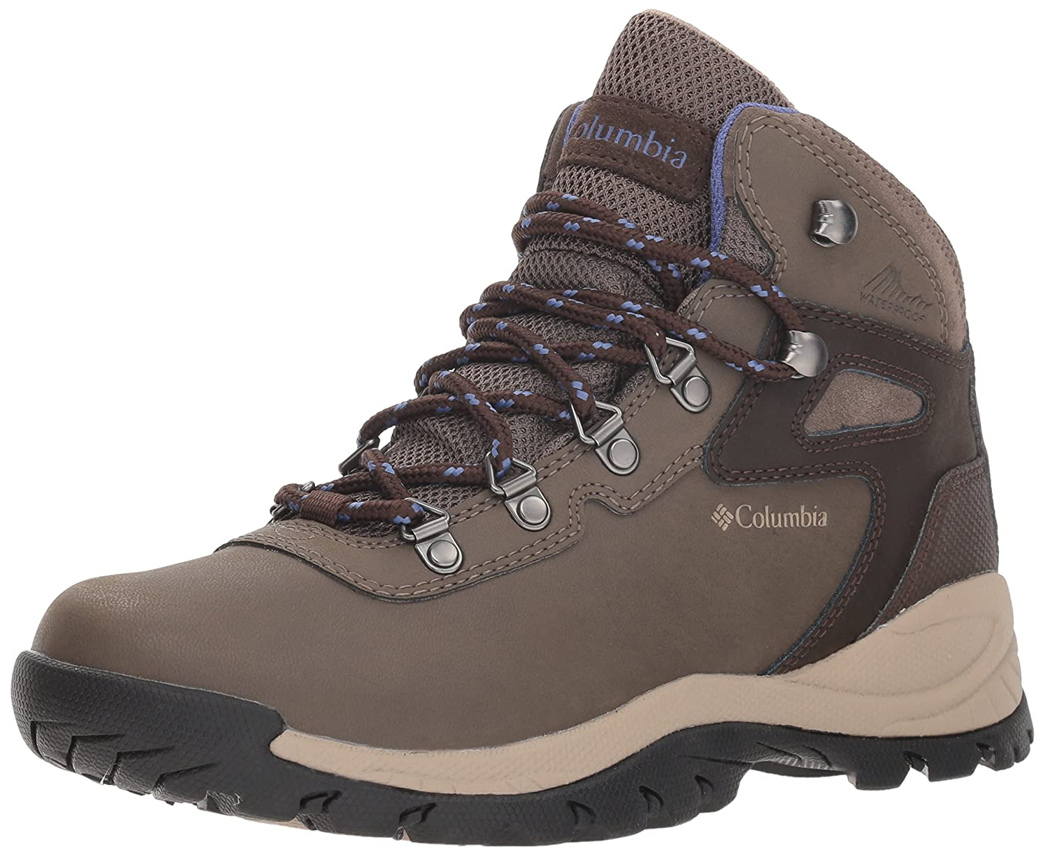 Columbia Women's Newton Ridge Plus Hiking Shoe B0787HV3DD 6 M US|Mud, Eve