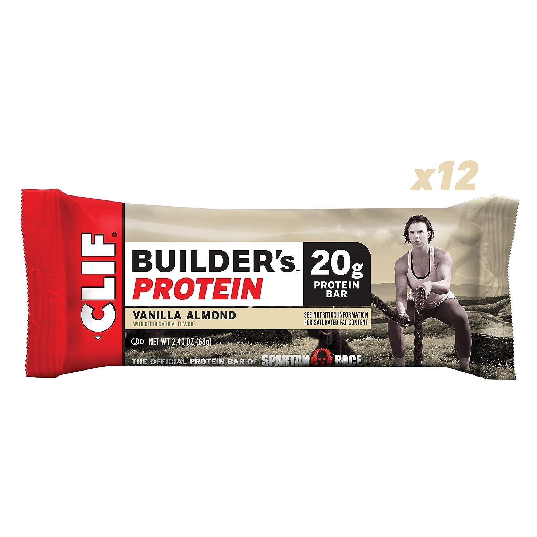オールナチュラル Protein クリフビルダーズプロテインバー バニラアーモンド Bar 24本 【アメリカからの送料無料 Almond】 Clif Builder's Protein Bar Vanilla Almond B000Q5XO4S, カフェロッソ ビーンズストア:861fac2f --- ijpba.info