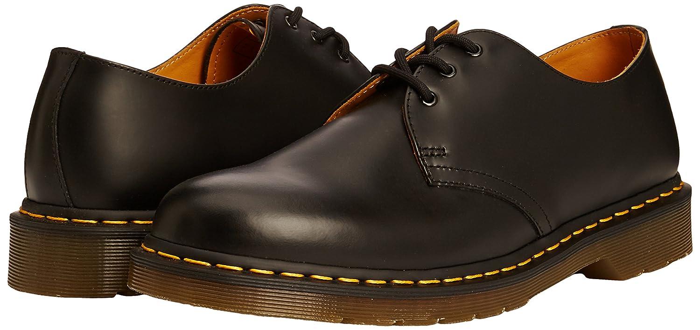 Dr. Martens 3 Öse Schuhe, Schwarz (glatt) - Größe   Größe 41 EU 8b1e5f