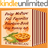 Daisy McDare Fall Favorites Fourteen-Book Cozy Mystery Set