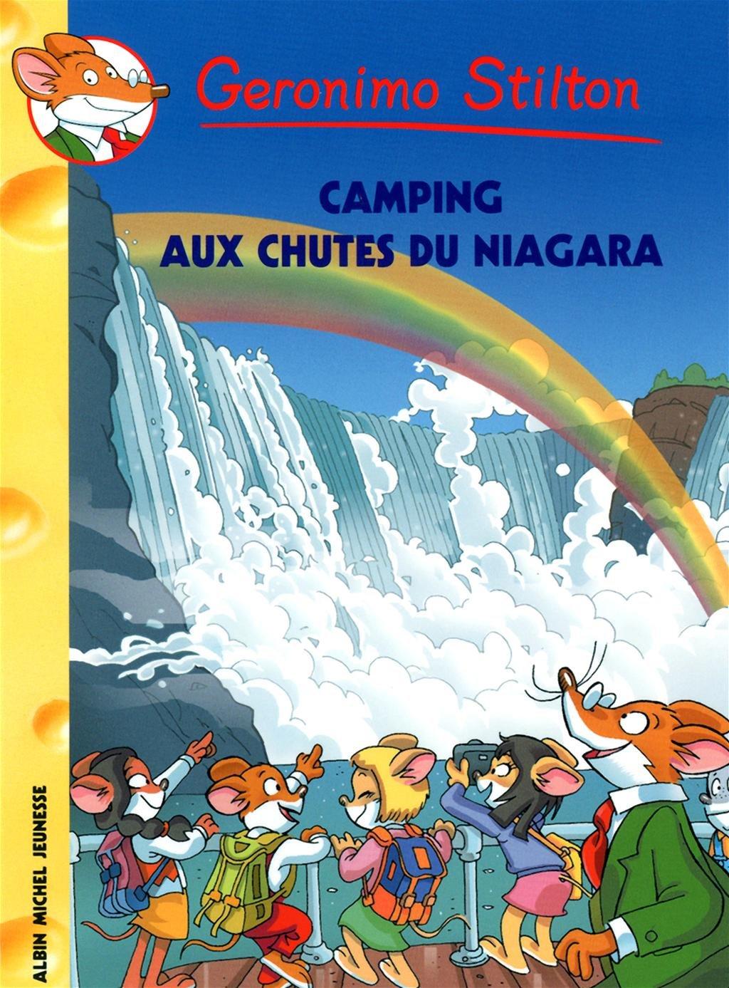 Download Camping Aux Chutes Du Niagara N 52 (Geronimo Stilton) (French Edition) pdf