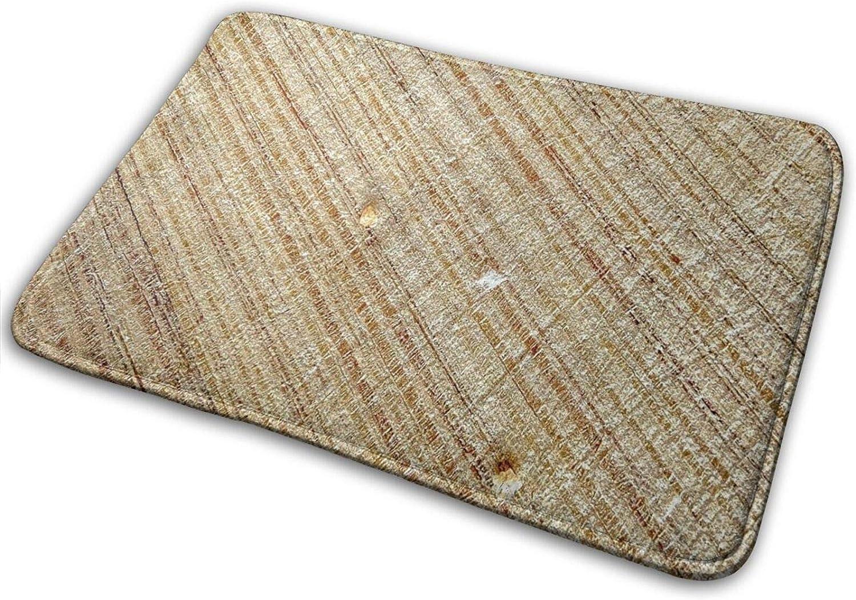 Alfombra de piso para puerta de pasillo, baño, interior y exterior, antideslizante y lavable, práctico limpiador de barro y trampa para el polvo para puerta, tronco, macro, madera, textura.
