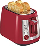 Hamilton Beach Ensemble Extra-Wide Slot 2-Slice Toaster, Red (22812)