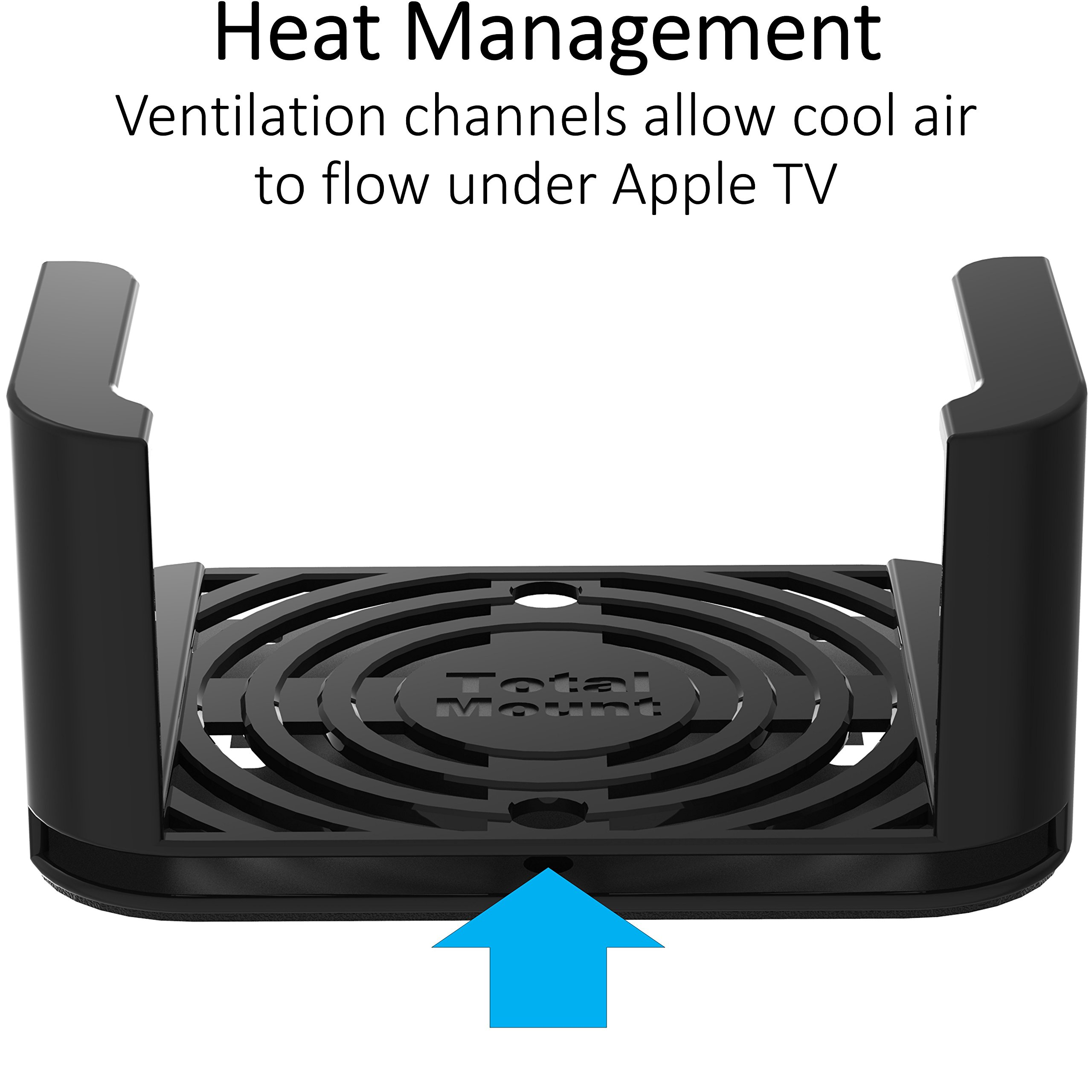 TotalMount Apple TV Mount - Compatible with all Apple TVs including Apple TV 4K by TotalMount (Image #5)