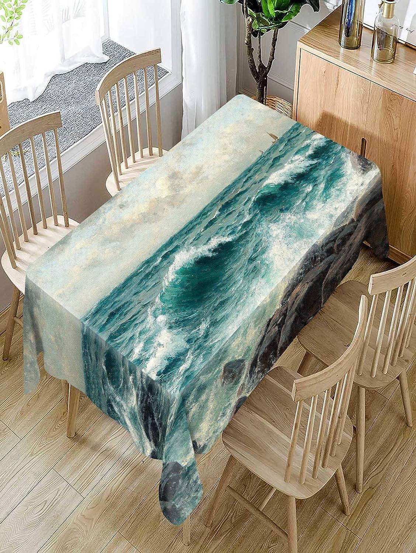 Table Cloth Nuevo Exportación Belleza Natural AliExpress Agua de ...