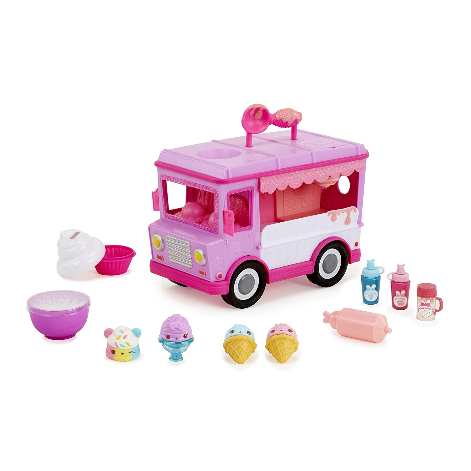 Num Noms Glitter Lip Gloss Truck Small Collectable Toy MGA Entertainment 551621