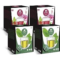 Capsulas compatibles dolce gusto ®* Origen & Sensations   2 x té de marrakech   2 x infusión frutos del bosque   Total…