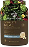 PlantFusion Complete Meal Plant Based Protein Powder, Creamy Vanilla Bean, 2 Lb Tub, 20 Servings, 1 Count, Gluten Free, Vegan, Non-GMO, Packaging May Vary
