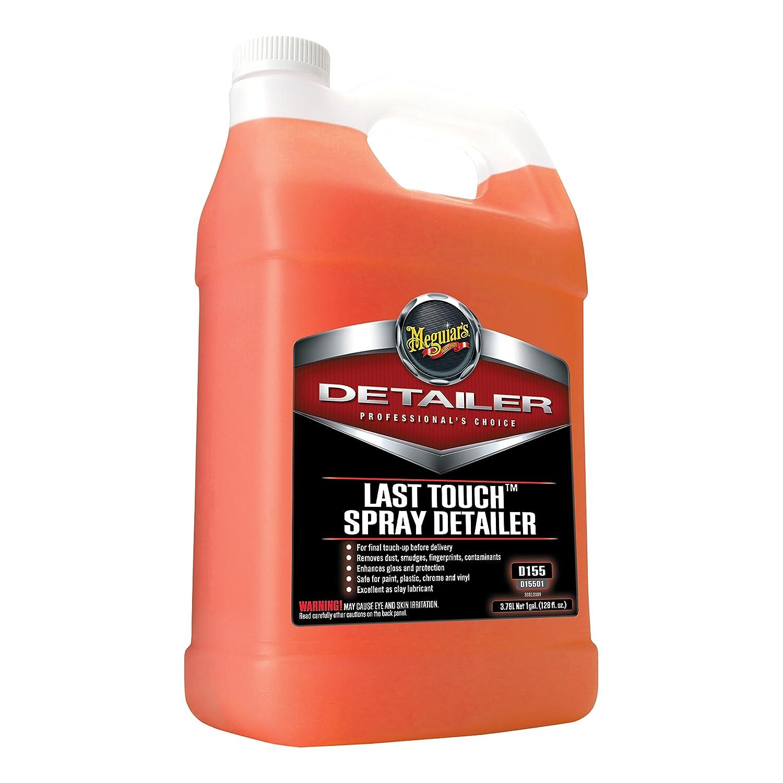 Bottle of spray detailer.