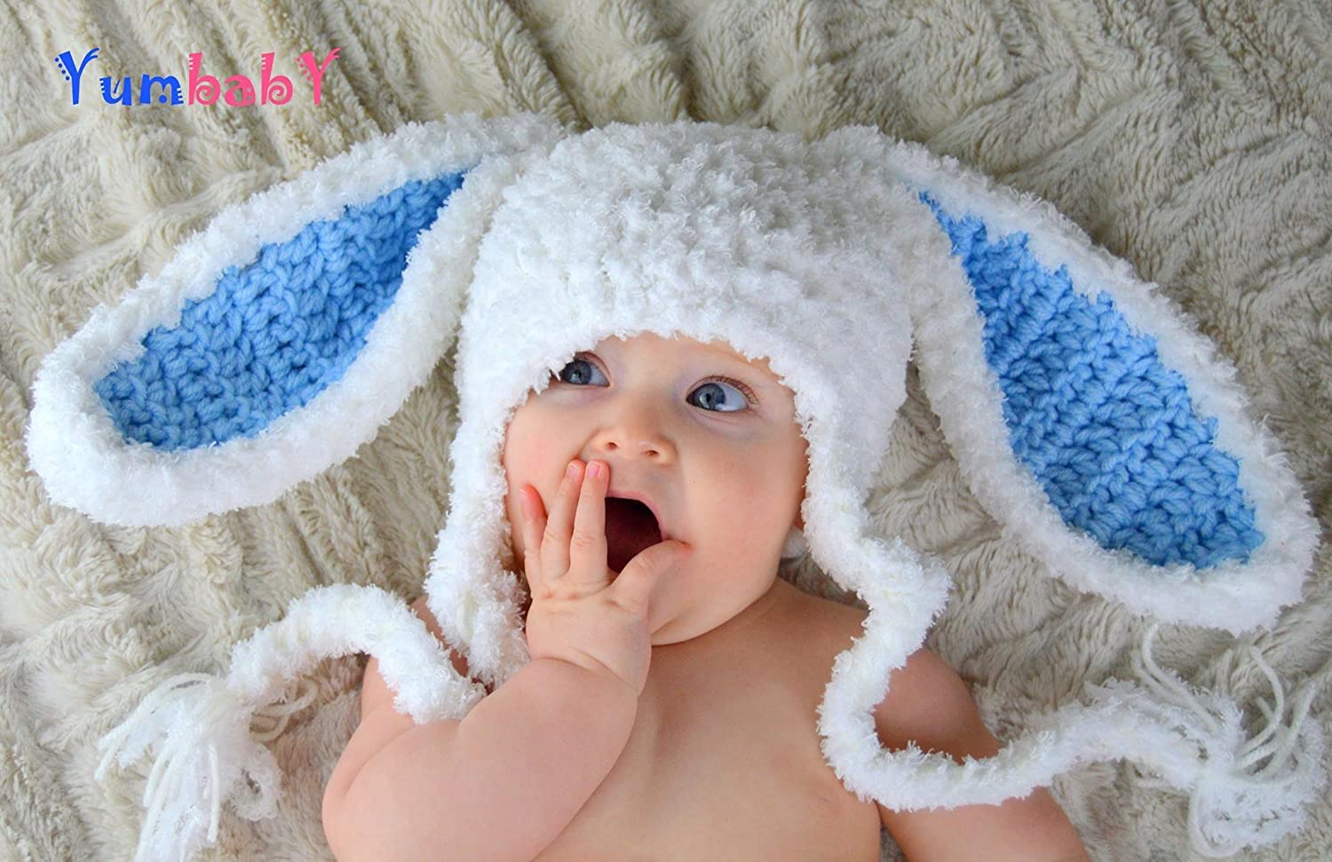 Bunny Hat for Easter - Easter clothes for kids Baby Bunny Ears Hats
