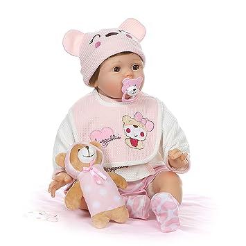 Amazon.com: Muñecas de bebé reborn de 22.0 in, muñeca de ...