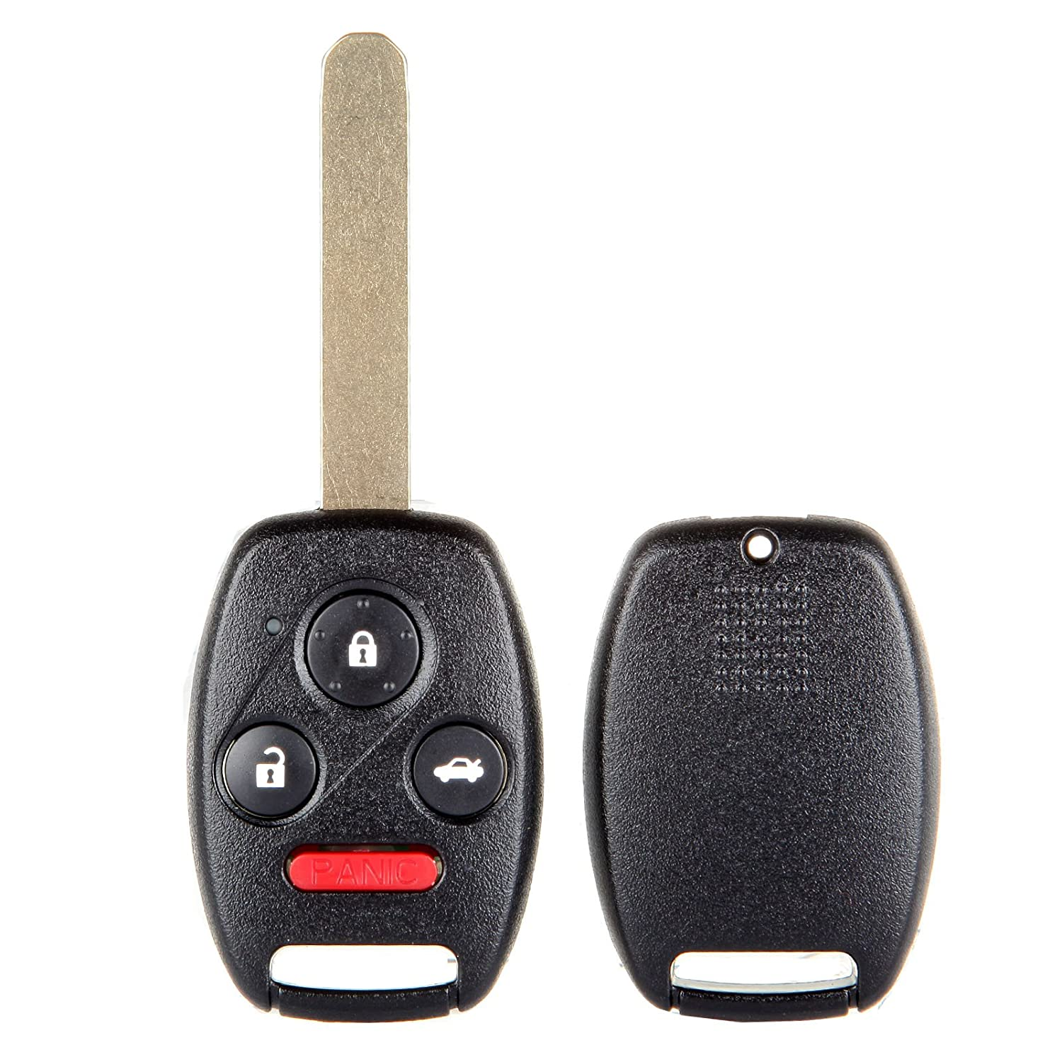 Pack of 2 800728-5211-1804091211 ECCPP Replacement fit for Uncut 313.8MHz Keyless Entry Remote Key Fob Honda Pilot//Accord KR55WK49308